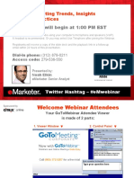 Mobile marketing trends and insights - August 2010