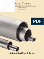 SCI Stainless Pipe and Tubing