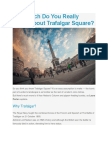 How Much Do You Really Know About Trafalgar Square