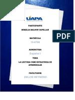 Actividad III,Español 1.Yaquelin Tavarez Santos 14-4051