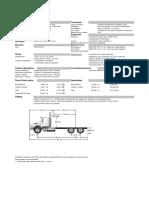 Freightliner Chasis m2 112 6x4 60k Dd13 410 Mixto Epa 10