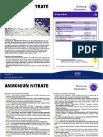 Ammonium Nitrate Industrial