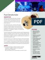 Fuel Densitometer