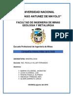 Mineralogia Cerro Lindo