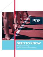 Need to Know - Hedge Accounting (IFRS 9) (Print)