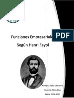 Analisis de Funciones Empresariales