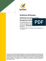 244527162 NetBackup Encryption and Key Management Solutions PDF