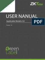 UserManual ZKT_G2