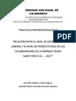 Informe de Prcticas II- Valdivia Tafur Hugo