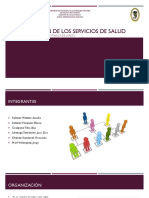 Expo_Organización de Los Servicios de Salud
