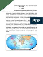 Uso de Las Coordenadas Geográficas en La Representación de Mapas