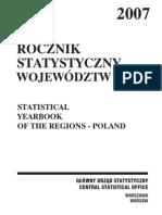 PUBL Rocznik Statysty Wojewodztw 2007