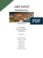 Buffet Restaurant Print