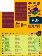 Palabras Cántabras/La Oropéndola 100% sostenible