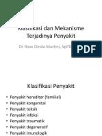 1.6.2.2 - Klasifikasi Dan Mekanisme Terjadinya Penyakit