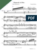 George Gershwin-Rhapsody in blue-SheetMusicDownload.pdf
