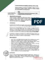 PIP informe Tecnico Agua Pallca