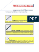AutoCAD Herramientas Básicas