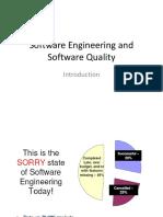 1. SDLC and Software Quality