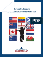 Aspen US Physical Literacy a Global Scan
