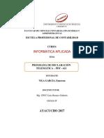 Programa de Declaracion Telematica