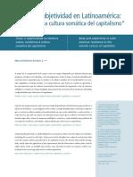 Cuerpo y subjetividad en América Latina