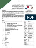 Panamá - Wikipedia, La Enciclopedia Libre