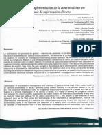 Medinetxus. Implementación de La Cibermedicina en Sistemas de Informacion Clìnicos UDEC 2011