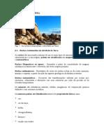 DINÂMICA DA TERRA - rochas 7º ano.doc