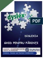 Dislexia Ghid Pentru Parinti