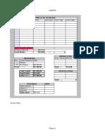 Modelo Planejamento de Despesas