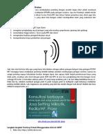 Cara Mudah Pointing Jaringan Wireless