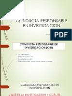 Conducta Responsable en Investigacion