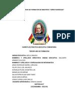 Informe Pec Adelazamudio