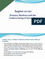 10. a Primary Market