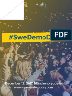 Sweden Demo Day 2017