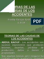 Teorias de Las Causas de Los Accidentes