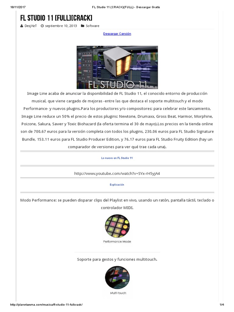 fl studio descargar gratis en español completo