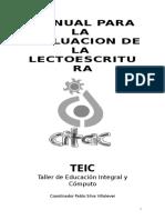 manual de evaluacion lectoescritura.doc