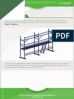 Guia de Seguridad Para Trabajo en Andamios y Estructuras