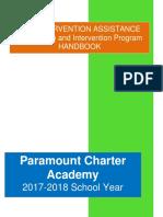 mtss  iat handbook paramount 2017-18