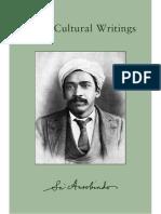 Sri Aurobindo - 01 Early Cultural Writings