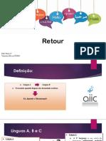 interpretation of coference - retour
