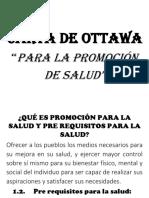 Carta de Ottawa Para La Promoción de Salud[1]