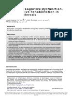 esclerosis multiple Cognition, Cognitive Dysfunction,