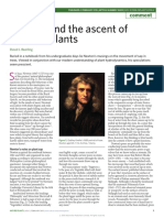 Beerling (2015) Newton and the Ascent of Water NatPlants