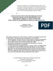FDA Guidance Document Prosthetic Knee Ligament