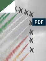 Aviones Jet en Formacion