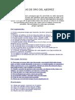 Las 50 Reglas De Oro Del Ajedrez Infantil.doc
