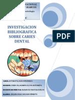 investigacion bibliografica sobre caries dental